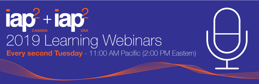 IAP2 Learning Webinars-You must log in to view or listen to recorded webinars